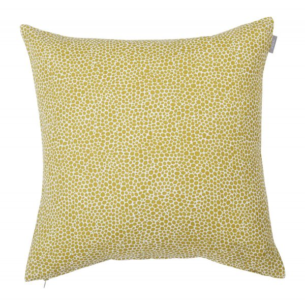 Spira Cushion Dotte - Mustard