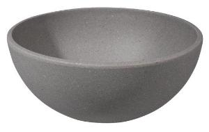 Zuperzozial Stone Grey Super Bowl Made From Biodegradable Bamboo & Corn