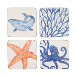 Creatures Coasters - Set of 4