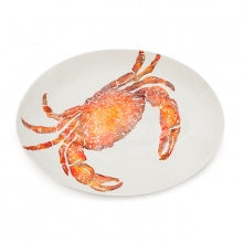Oval Platter - Large Crab