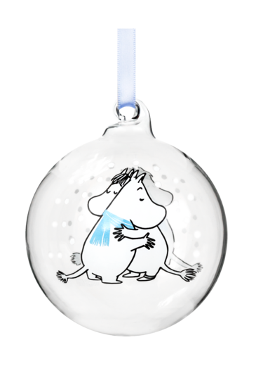 Moomin Decoration Ball - Cuddle 7cm