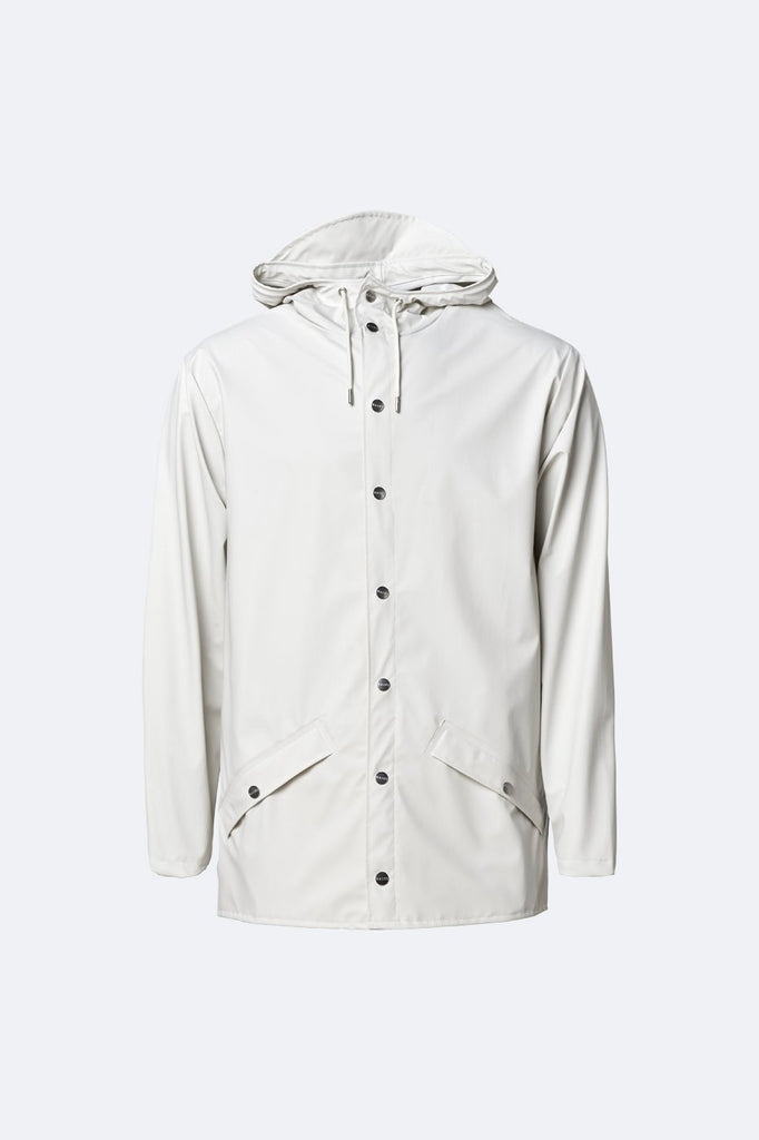 RAINS Off White Jacket