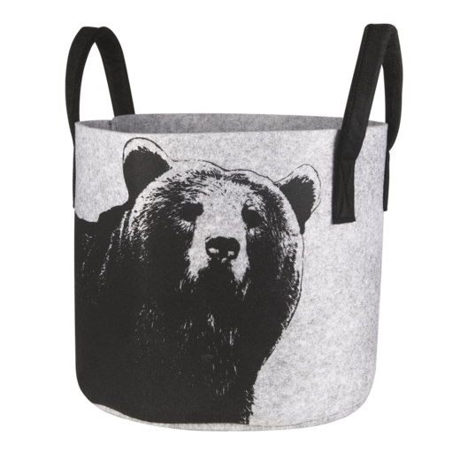 Nordic Bear Storage Basket