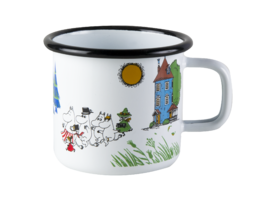 Moomin Valley Enamel Mug