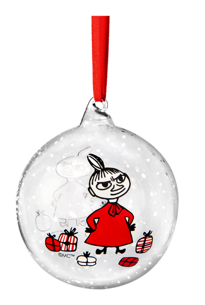 Moomin Christmas Decoration Ball - Little My