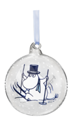 Moomin Christmas Decoration Ball - Blue Ski's
