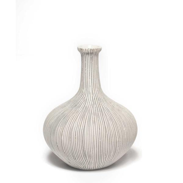 Lindform Athen Grey Stripe Vase