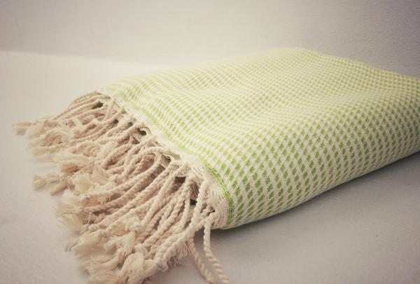 Logan Lime Hammam Towel