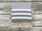 Chappie Grey Hammam Towel