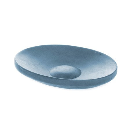 Soap Dish - Concrete, Blue