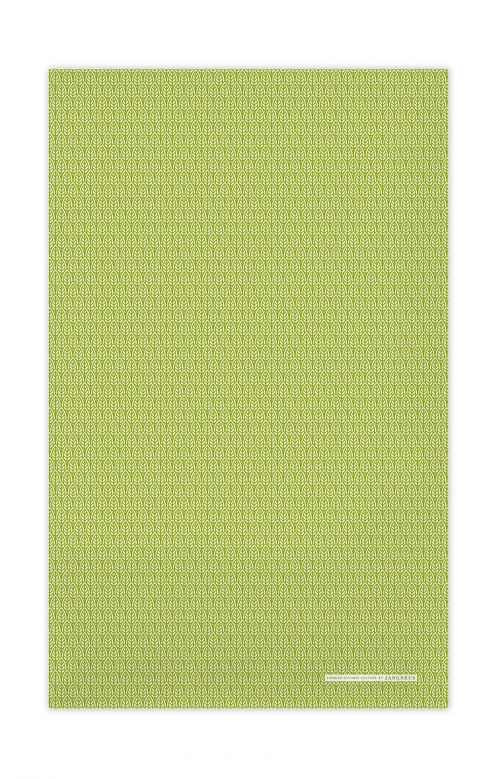Jangneus Tea Towel Green Leaves