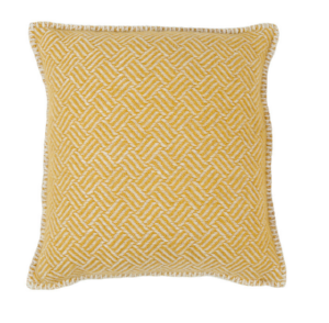 Klippan Samba Yellow 100% Lambswool Cushion Cover