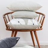 Spira Cushion Grodblad - Linen