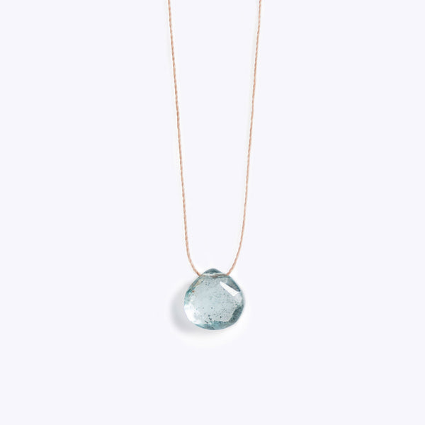 Wanderlustlife Aquamarine Necklace