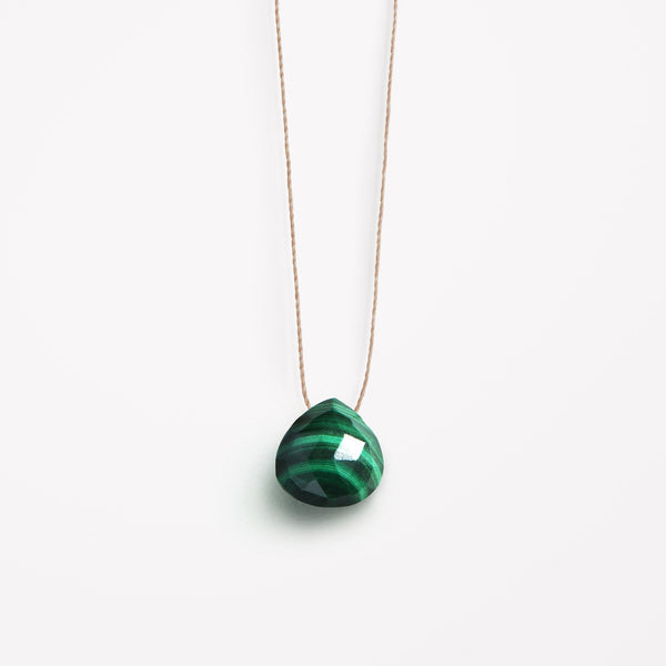 Wanderlustlife Green Malachite Necklace