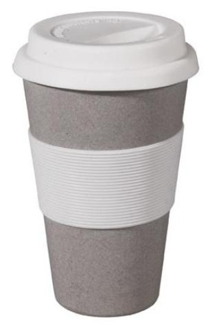 Zuperzozial Eco-friendly Cruising Travel Mug Stone Grey
