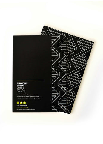 DNA A5 Notepad Black