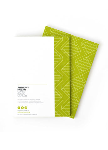 DNA A5 Notepad Green
