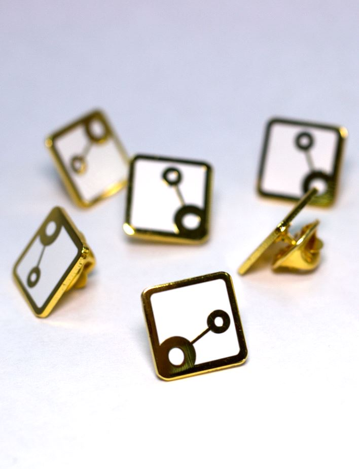 Links Badge Gold