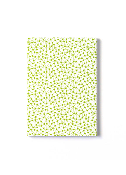 DNA A5 Notepad White - Front