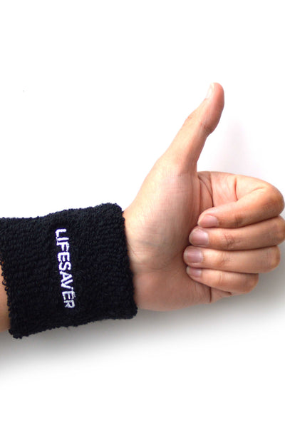 Wristband for lifesavers