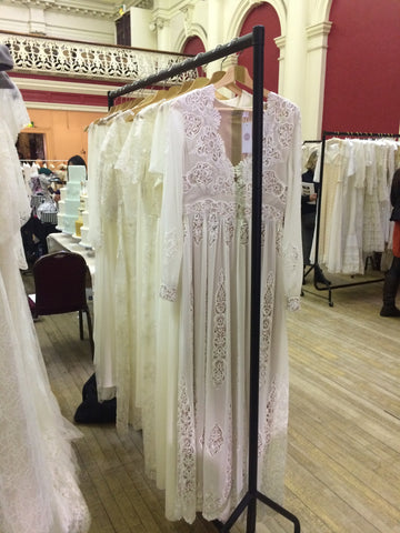 Wedding dresses at the fair