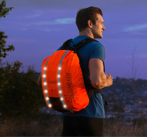 Orange Backpack Light