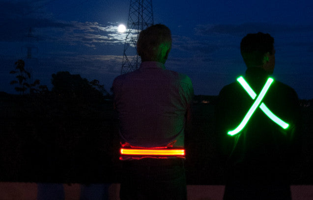 LED BELT <br> BE SEEN