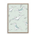 Nursery Decor | Sea Dragon Illustration | Scandinavian Poster | Born Lucky