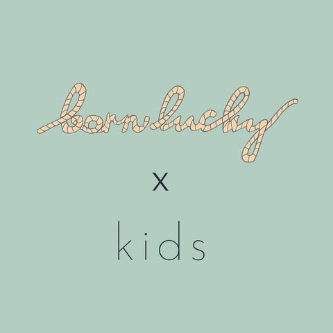 born lucky x kids wall art design