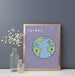 Jorden (Earth) Art Print | Scandinavian Nursery Decor | Born Lucky
