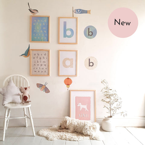born lucky creative family home wall decor prints and stickers