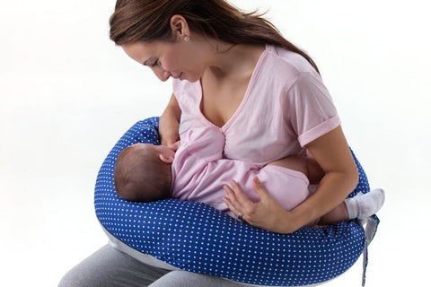 Dreamwizard (Prengnancy And Breastfeeding Pillow) - Blue