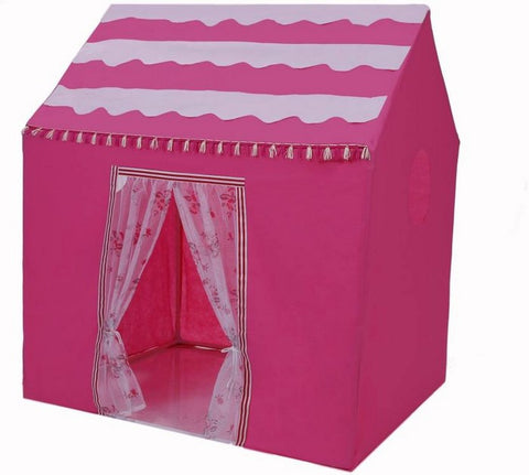 Pink House Play Tent