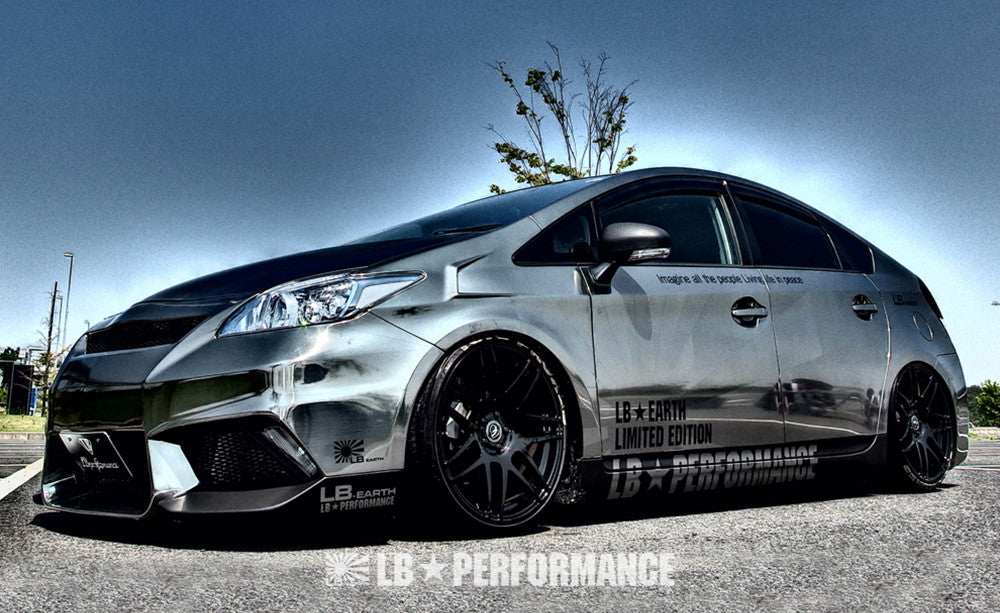 Liberty Walk Works Body Kit Toyota Prius The Speed Factory