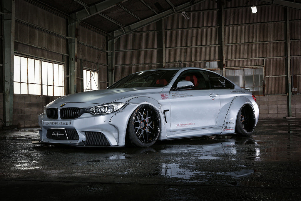 LIBERTY WALK LB WORKS BODY KIT BMW 4 SERIES (NON M4) - The Speed Factory