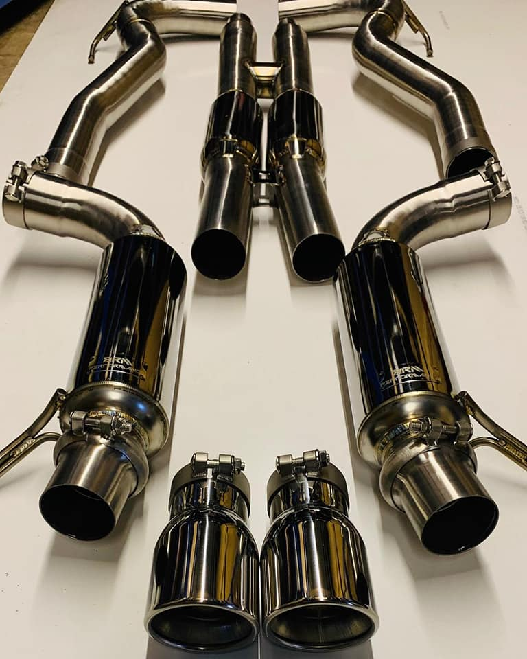 "FORD MUSTANG GT 3"" PERFORMANCE EXHAUST CATBACK SYSTEM"
