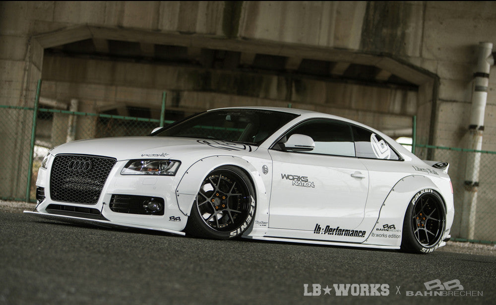 LIBERTY WALK STANCE WORKS A5 / S5 BODY KIT - The Speed Factory