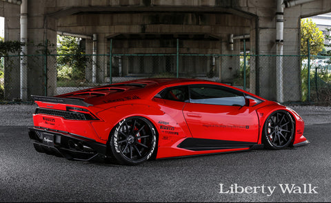 LIBERTY WALK WORKS BODY KIT LAMBORGHINI HURACAN - The Speed Factory