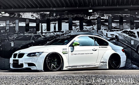 LIBERTY WALK LB WORKS BODY KIT BMW M3 - The Speed Factory