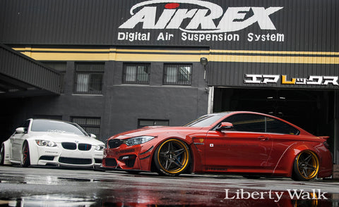 LIBERTY WALK LB WORKS BODY KIT BMW M4 - The Speed Factory