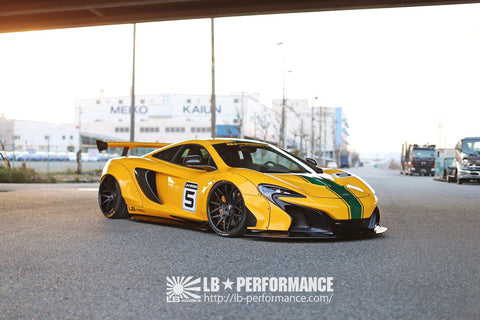 LIBERTY WALK WORKS BODY KIT MCLAREN - The Speed Factory