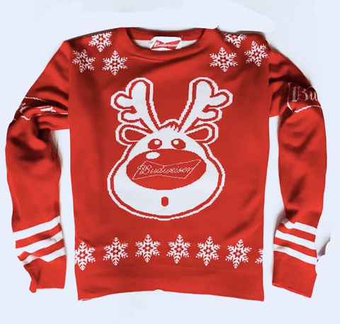 Image of Budweiser Christmas Jumper