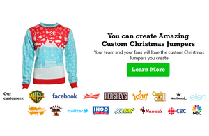 Image of a Custom Christmas Jumper