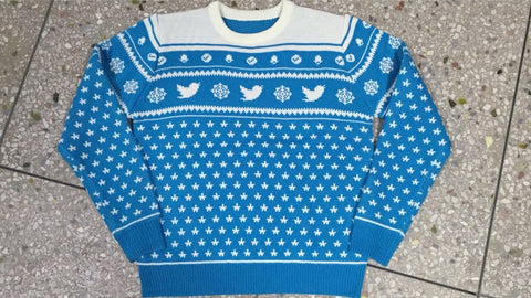 Image of Twitter Christmas Jumper