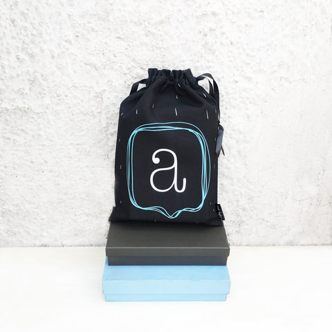 ALPHABET BAGS {speech bubbles}