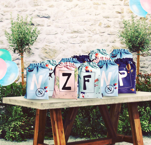 ALPHABET BAGS {animal kingdom}