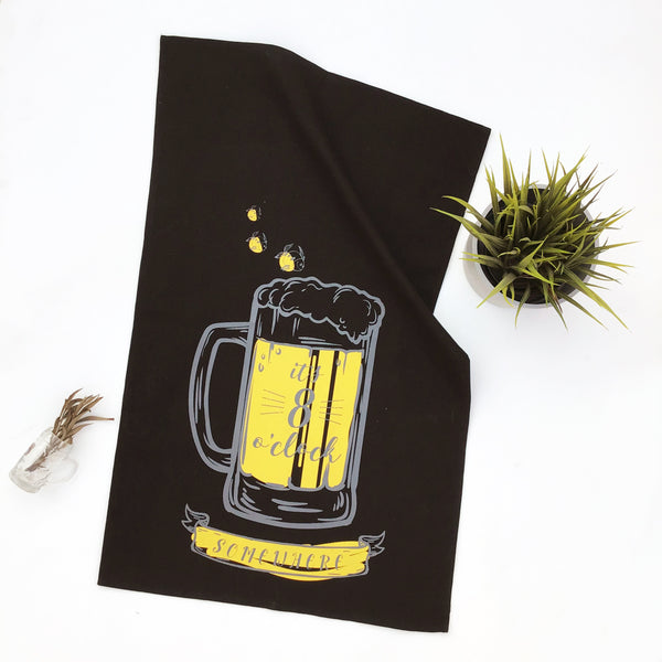 BAR TOWELS {fluorescent pop}