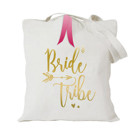 TOTE BAG {bride tribe}