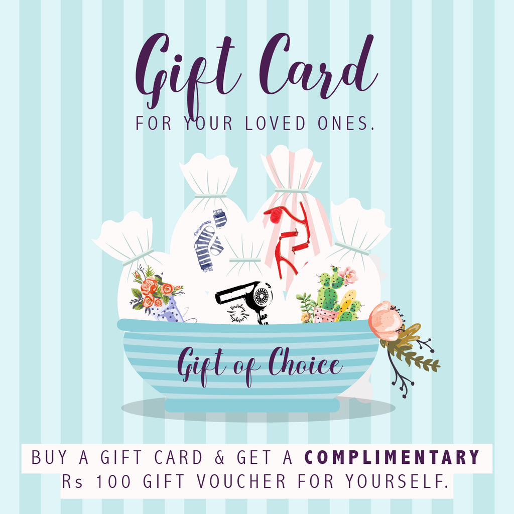 GIFT CARD {for those special days}
